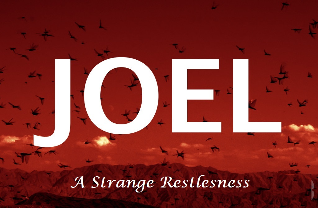 """A Strange Restlessness""  ( ADVENT 2 December 4, 2016)"