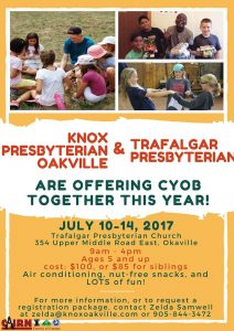 Summer Camp for Kids! (July 10-14, 2017)