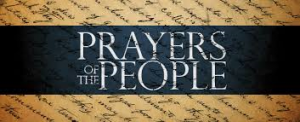 Prayers for the people ( April 8, 2018)