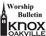 April 8th, 2018 Worship Bulletin