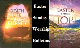 Easter Sunday Bulletins