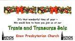 Treats and Treasures Sale