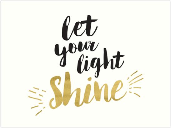 """""""Let Your Light Shine"""" (April 7, 2019)"""